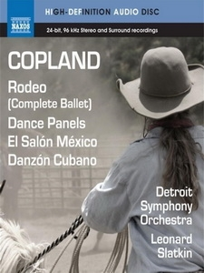 柯普蘭(Copland) - Rodeo, Dance Panels, El Salon Mexico, Danzon Cubano 音樂藍光