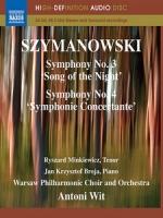 齊瑪諾夫斯基 - 第三、四號交響曲 (Szymanowski - Symphonies No. 3 & No. 4) 音樂藍光