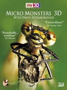 微型猛獸世界之旅 3D (Micro Monsters 3D with David Attenborough) <2D + 快門3D>