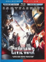 [英] 美國隊長 3 - 英雄內戰 3D (Captain America - Civil War 3D) (2016) <2D + 快門3D>[台版]