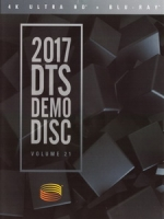2017 DTS Demo Disc Vol. 21 4K 藍光測試碟