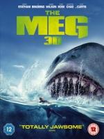 [英] 巨齒鯊 3D (The Meg 3D) (2018) <2D + 快門3D>[台版]