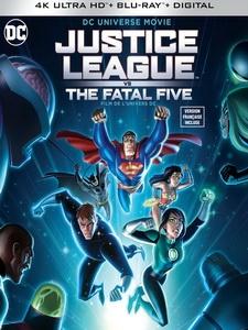 [英] 正義聯盟對抗致命五人組 (Justice League vs. the Fatal Five) (2019)[台版字幕]