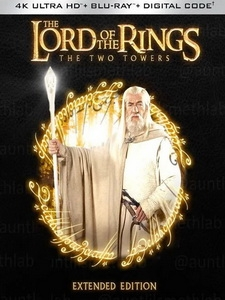 [英] 魔戒二部曲 - 雙城奇謀 加長版 (The Lord of the Rings - The Two Towers) (2002) [Disc 2/2][台版]